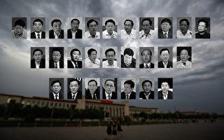 2015年中央直管37高官落马 至少7成属江派