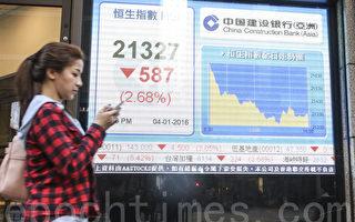 2016首交易日 A股跌7%熔斷 全球股市開門黑