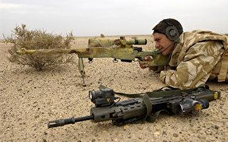 英狙击手千米外穿墙击毙3名IS成员 救20人