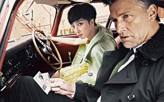 桂纶镁赴伦敦拍封面大戏 扮演时尚间谍