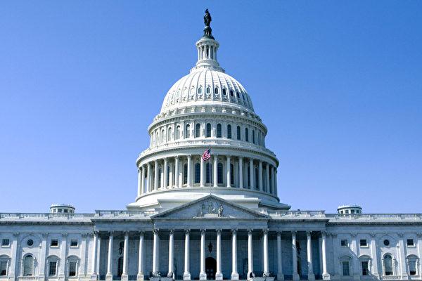 圖為美國國會大廈。(李莎/大紀元)