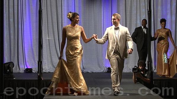9月13日,華盛頓特區會展舉辦婚禮用品展覽會。(林樂予/大紀元)