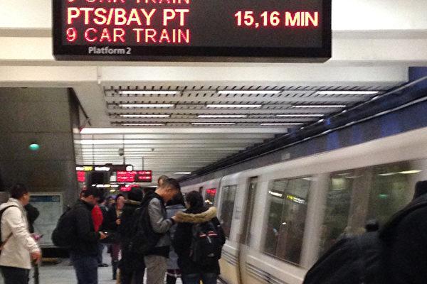 舊金山灣區捷運BART董事會考慮降低車票折扣幅度