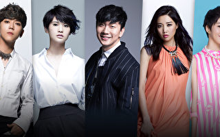 KKBOX風雲榜進倒數 再邀五組人氣歌手助陣