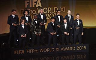 梅西五度荣膺FIFA金球奖 得票超C罗内马尔之和