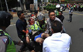 印尼首都发生连环爆炸 警方:IS 策划袭击