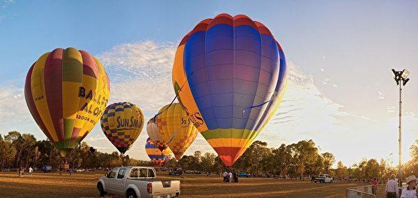 空中熱氣球。(帕拉瑪塔市政府提供)
