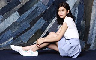 陈妍希再续名鞋代言 拍摄形象写真