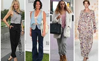 喇叭袖 窄围巾 2016年八个女装流行趋势