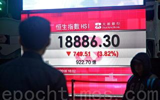 香港股市匯市雙雙大跌 分析:中共陷兩難