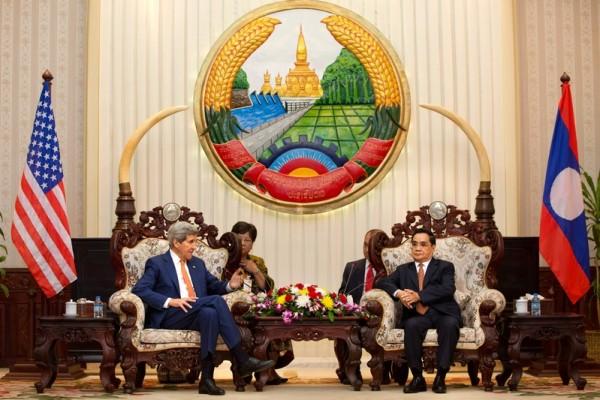 美國務卿克里亞洲行聚焦南海與朝核問題