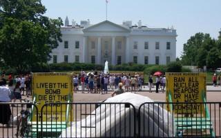 美國史上請願最久 「白宮鄰居」離世