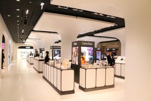 機場型免稅店進駐日本百貨店