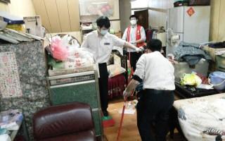 關懷豐原獨居長者   替代役男助居家清掃