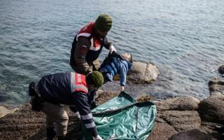爱琴海又见难民悲剧 近40人溺亡有孕妇孩童