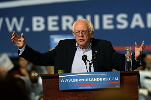 桑德斯(Bernie Sanders)。(Getty Images)