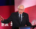 桑德斯呼籲民主黨不能跟基層選民脫節。(Andrew Burton/Getty Images)