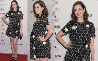 最美孕婦 安海瑟威懷孕也超級漂亮