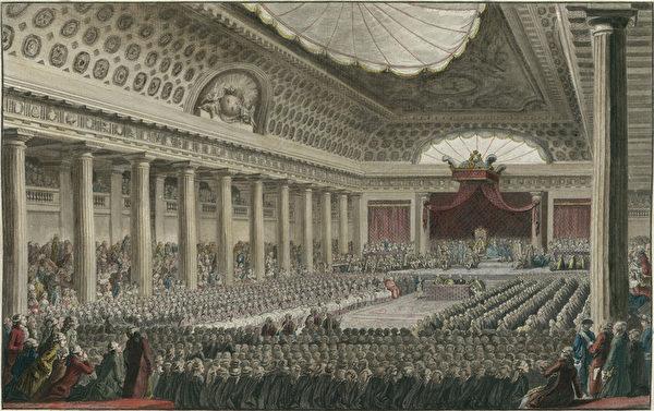 1789年三级会议,法国国家图书馆(公有领域)