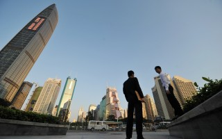 深圳楼市经历了2015年的暴涨后,进入2016年涨势仍在继续,并不断刷新纪录。(ETER PARKS/AFP/Getty Images)