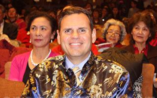 摩頓市長中文拜年
