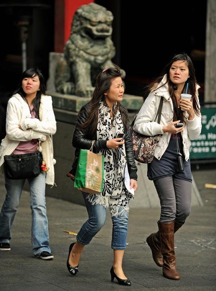 中國人過年出境花銷比往年大為減少