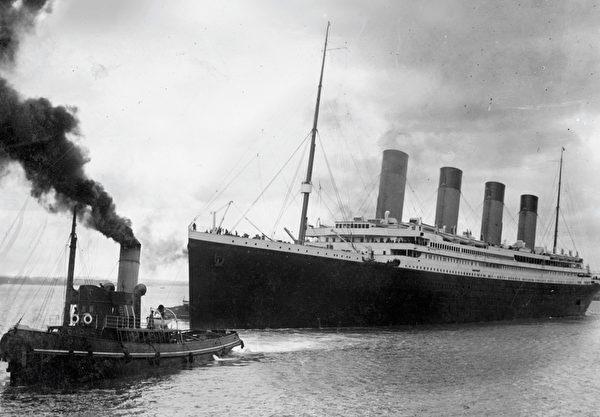 由澳洲億萬富翁帕爾默(Clive Palmer)斥資建造的泰坦尼克二號,預計於2018年進行首航。圖為在1912年沉沒的泰坦尼克號。(SOUTHAMPTON CITY COUNCIL / AFP)