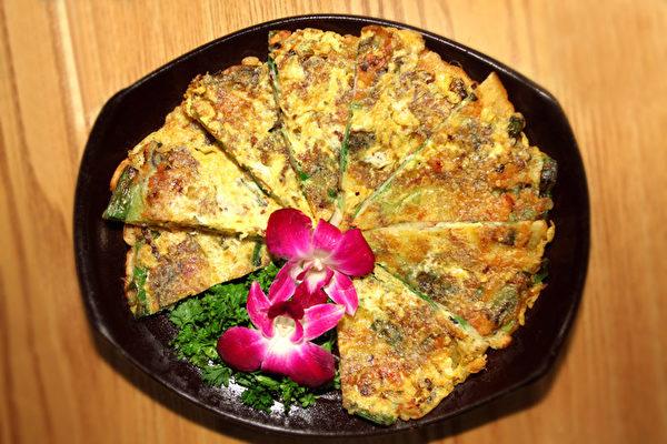 missKOREA的焦香煎饼。(大纪元图片)