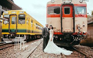 日本铁道风婚纱照  达人经验谈