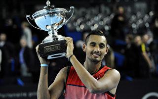 澳洲網壇新星克耶高斯奪職業生涯首冠