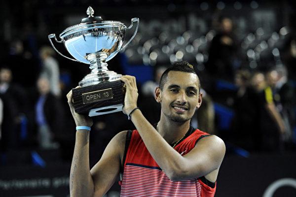 澳洲网坛新星克耶高斯夺职业生涯首冠
