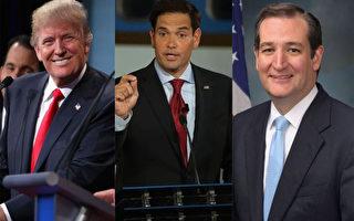 """美共和党德州辩论会 卢比奥""""重炮""""攻川普"""