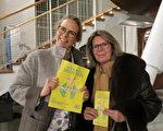 Yasmine和Laura女士在昨天看過演出的朋友的極力推薦下,趕來觀看2016年2月26日美國神韻國際藝術團在瑞士日內瓦BFM劇院的第二場演出。(關宇寧/大紀元)