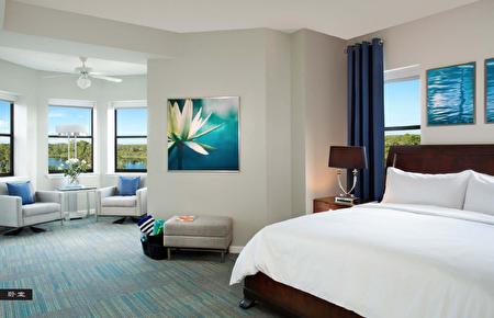 奥兰多距离迈阿密有5小时车程,当地有迪斯尼乐园以及环球影城,跟迈阿密一样每年吸引大量游客(RE/MAX提供)