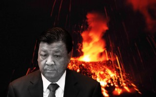"""日前,中共官媒发表的习近平在人大会议上的讲话,遭到主管宣传系统的刘云山删去""""依宪治国""""、""""依宪执政""""8字。刘此举被视为是铤而走险。(大纪元合成图)"""