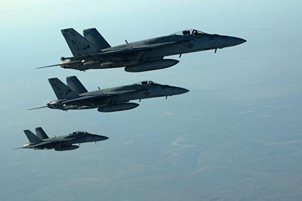 美國戰機。(AFP)