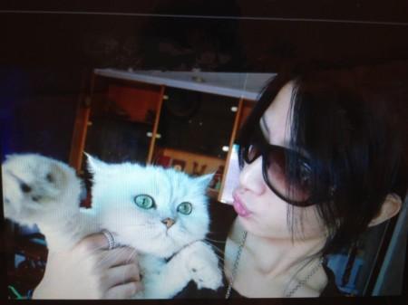 李千娜老家養10幾年的貓過世,爆哭自責壞主人。(Hit Fm提供)