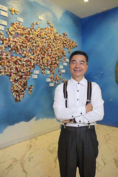 台灣綠建材產業發展協會創會理事長陳東慶。(三羽建材提供)