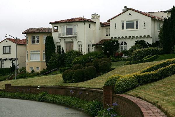 美百万豪宅比例最高的10大城市 加州占7个
