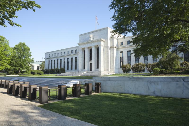 圖為位於華盛頓DC的美國聯邦儲備委員會(美聯儲)總部。(fotolia)