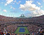 2012年美網比賽現場。(Clive Brunskill/Getty Images)