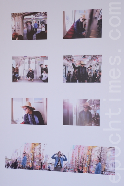 黄鸿升《ALiEN》东京放浪摄影展于2016年3月2日在台北举行。(黄宗茂/大纪元)