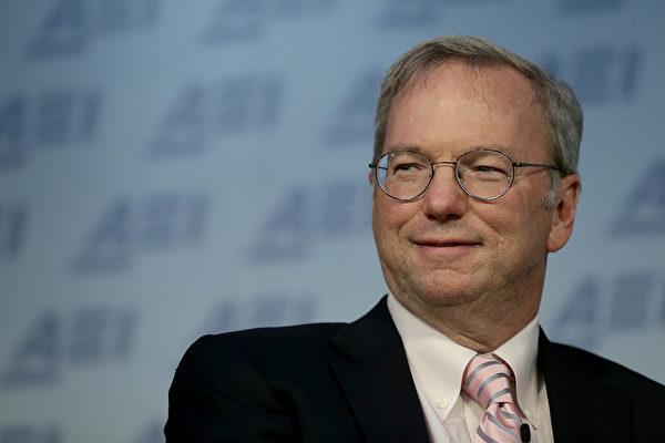 谷歌前CEO將掌美國防部創新委員會