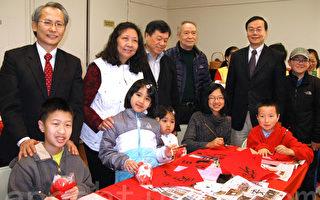 迎春揮毫 弘揚中華傳統文化