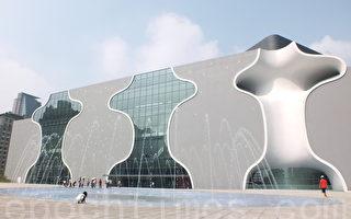台中國家歌劇院預計年底正式啟用。(黃玉燕/大紀元)