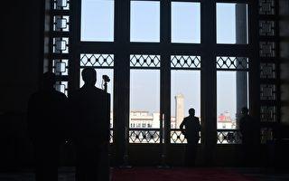 北京兩會期間出動大量保安人員。 ( WANG ZHAO/AFP/Getty Images)