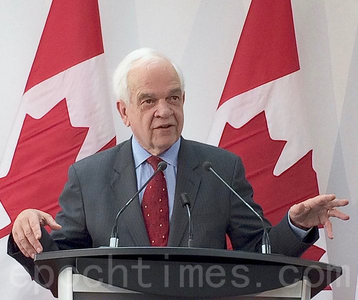 加拿大國會勒令前駐華大使麥家廉出席作證