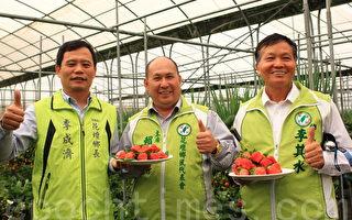 花坛乡公所推广乡内温室栽培农业。(郭益昌/大纪元)