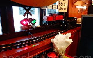 咖喱餐厅模型火车上菜 好个微型铁博馆