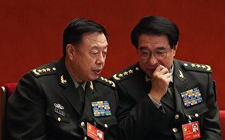 """据港媒透露,中国新年期间,习近平""""失踪""""10天,专门视察了新组建的五大战区、五大兵种等;范长龙(左)将在中共""""十九大""""退休。(Lintao Zhang/Getty Images)"""